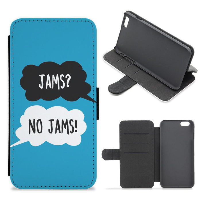 Jams? No Jams - BTS Flip / Wallet Phone Case