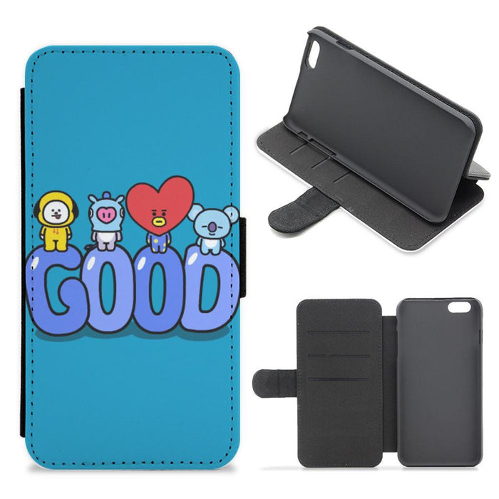 BT21 Good - BTS Flip / Wallet Phone Case