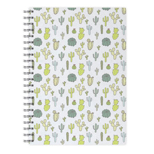 Cactus Pattern Notebook - Fun Cases