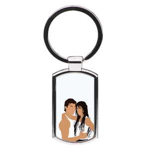 White Dallas 94 - Cameron Dallas Luxury Keyring