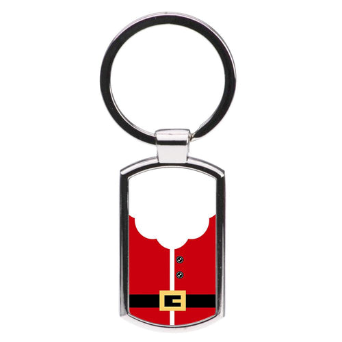 Santa Clause Outfit Luxury Keyring