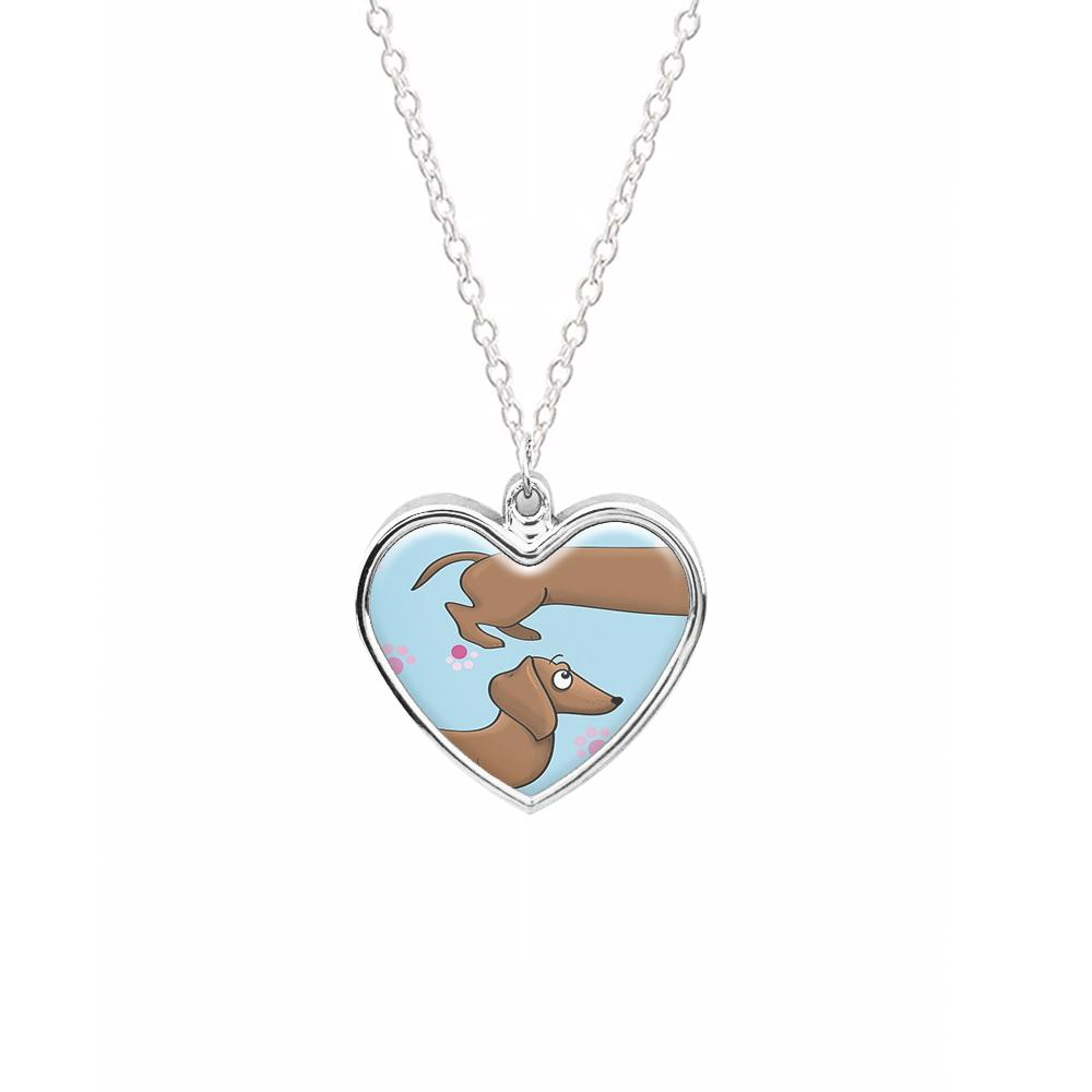 Dachshund 360 Necklace
