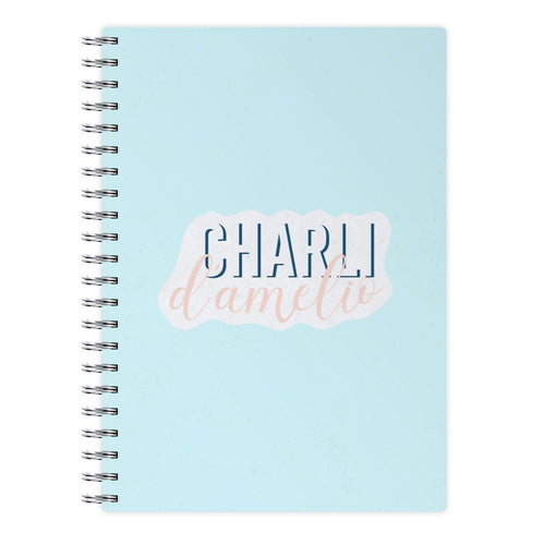 Blue Charli D'Amelio Notebook