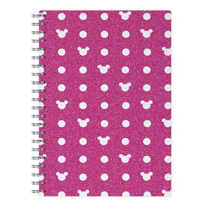 Mickey Polkadot Pink Disney Notebook - Fun Cases