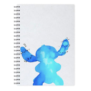 Watercolour Stitch Disney Notebook - Fun Cases