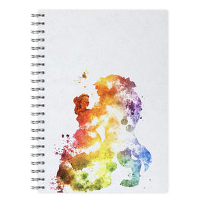 Watercolour Beauty and the Beast Disney Notebook - Fun Cases