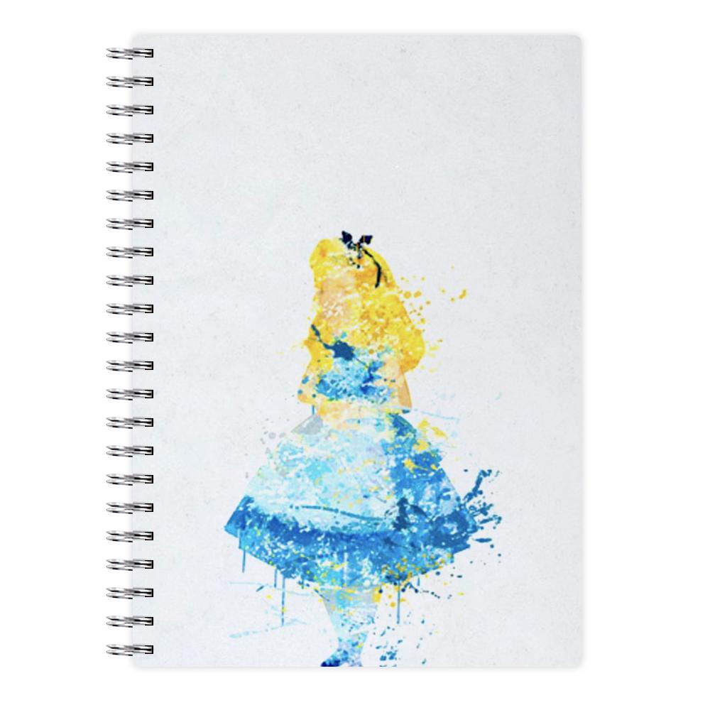 Watercolour Alice in Wonderland Disney Notebook - Fun Cases