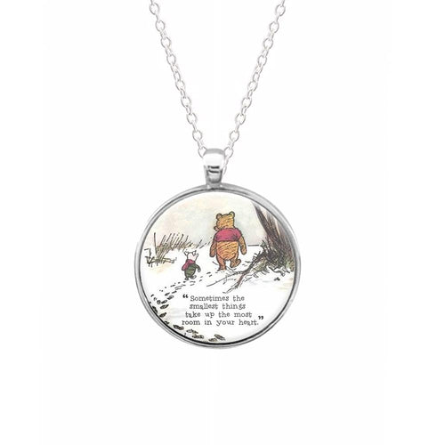 Sometimes The Smallest Things - Winnie The Pooh Keyring - Fun Cases