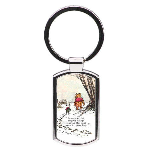 Sometimes The Smallest Things - Winnie The Pooh Luxury Keyring