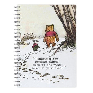 Sometimes The Smallest Things - Winnie The Pooh Notebook - Fun Cases