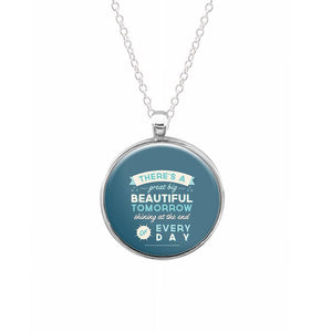 There's A Great Big Beautiful Tomorrow Keyring - Fun Cases