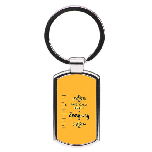 Practically Perfect - Mary Poppins Luxury Keyring