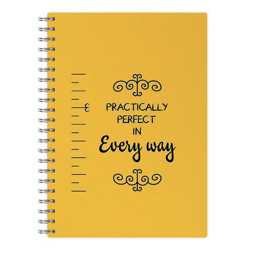 Practically Perfect - Mary Poppins Notebook - Fun Cases