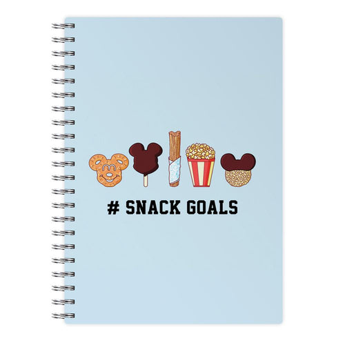 Snack Goals - Disney Notepad