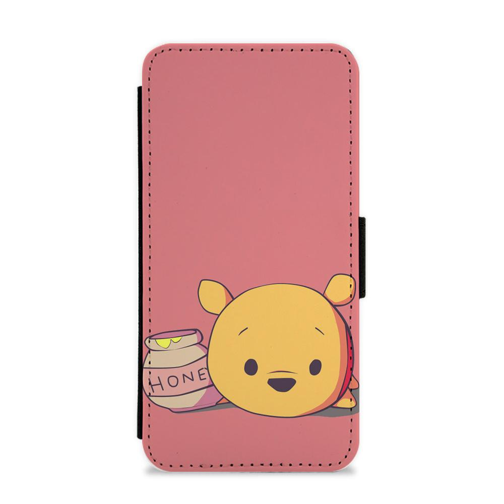 newest collection f11d9 b18d2 Drunk On Hunny - Winnie The Pooh Disney Flip / Wallet Phone Case