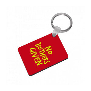 No Bothers Given - Winnie The Pooh Disney Keyring
