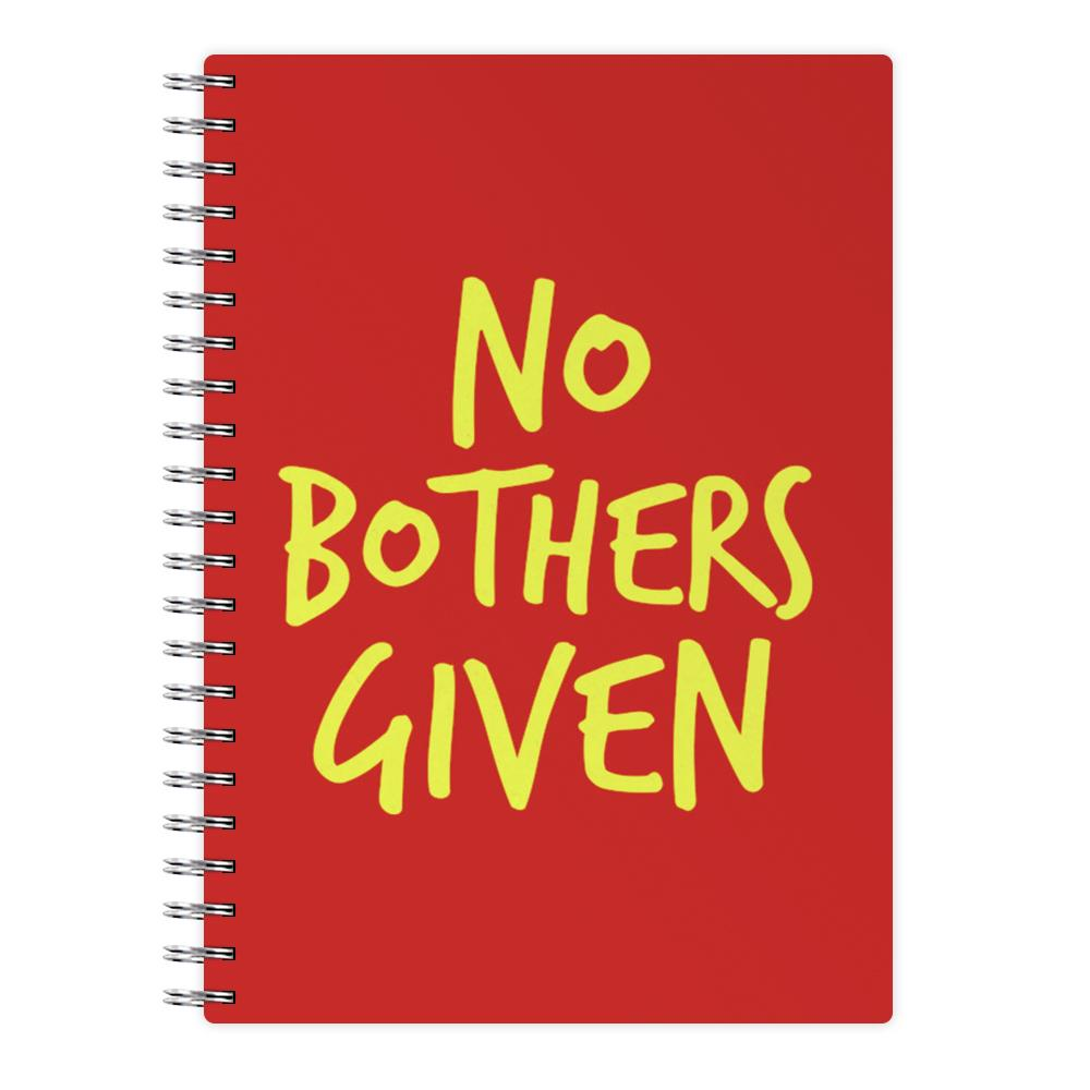 No Bothers Given - Winnie The Pooh Disney Notebook