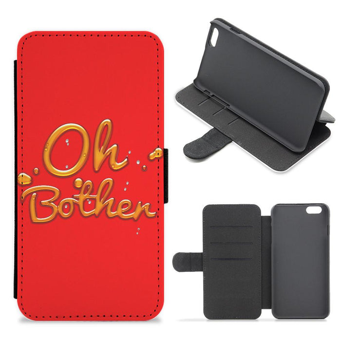 Oh Bother - Winnie The Pooh Disney Flip / Wallet Phone Case