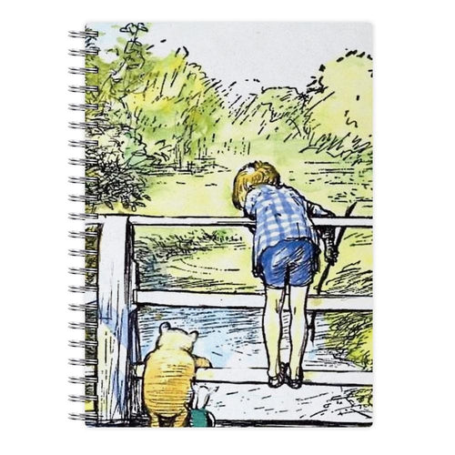 Winnie The Pooh & Christopher Robin - Disney Notebook