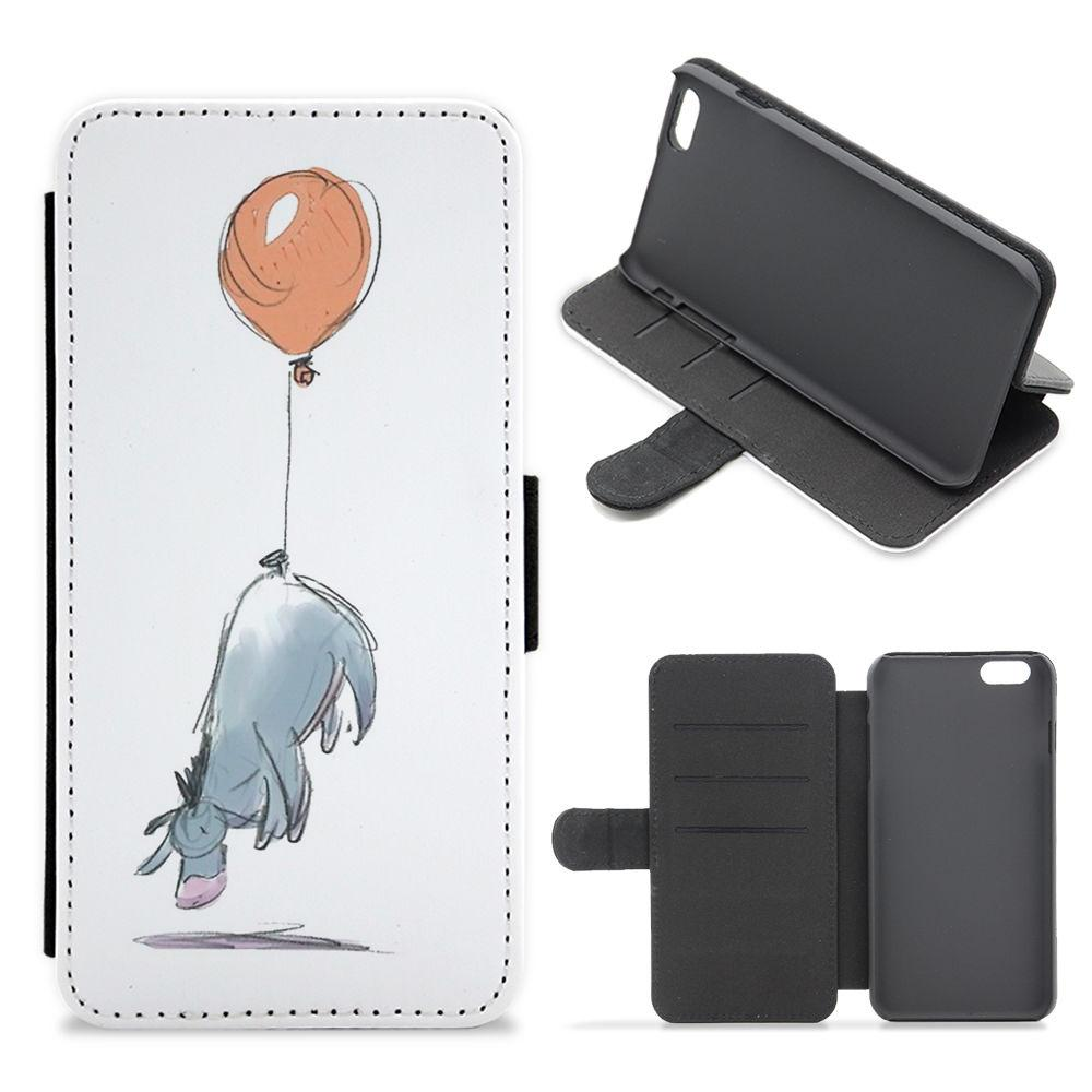 Eeyore And His Balloon Flip / Wallet Phone Case