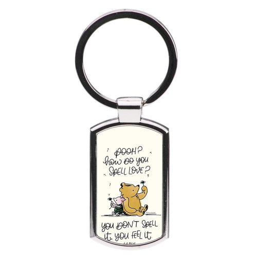 A Tale Of Love - Winnie The Pooh Luxury Keyring