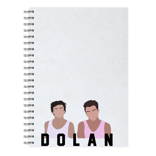 Dolan Twins Cartoon Notebook - Fun Cases