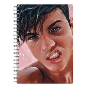 Grayson Dolan Painting - Dolan Twins Notebook - Fun Cases