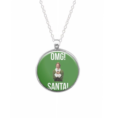 OMG SANTA! - Buddy The Elf Keyring - Fun Cases