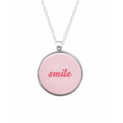 I Just Like To Smile - Elf Necklace