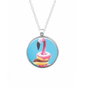 A Famished Flamingo Keyring - Fun Cases