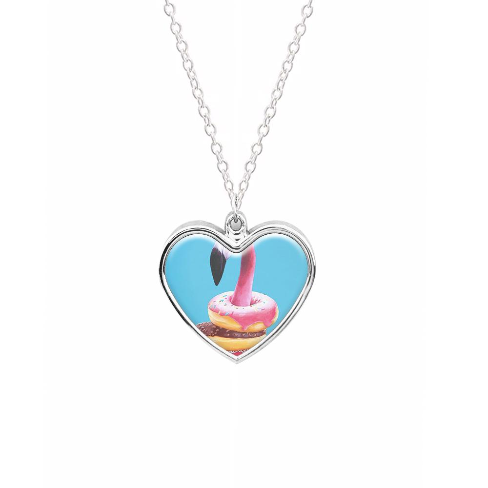 A Famished Flamingo Necklace