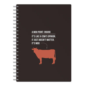 "Moo Point€"" - Friends Notebook - Fun Cases"
