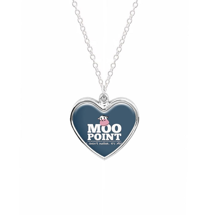 A Moo Point - Joey Tribbiani Necklace