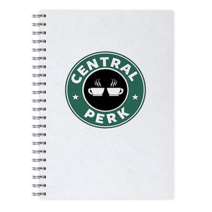 Central Perk - Starbucks Logo - Friends Notebook - Fun Cases