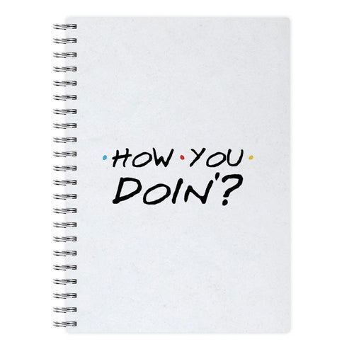 How You Doin' - Friends Notebook - Fun Cases