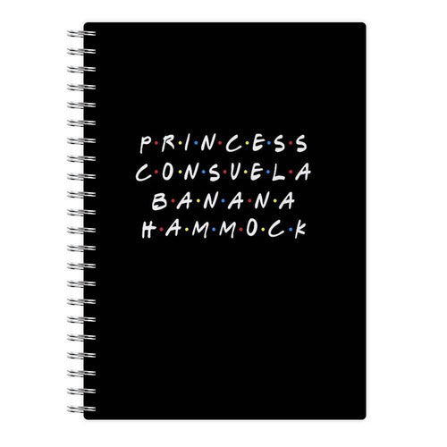 Princess Consuela Banana Hammock - Friends Notebook - Fun Cases