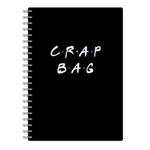 Crap Bag - Friends Notebook - Fun Cases