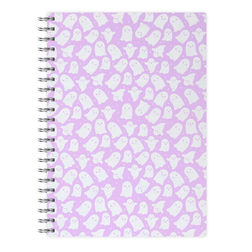 Ghost Pattern Notebook - Fun Cases