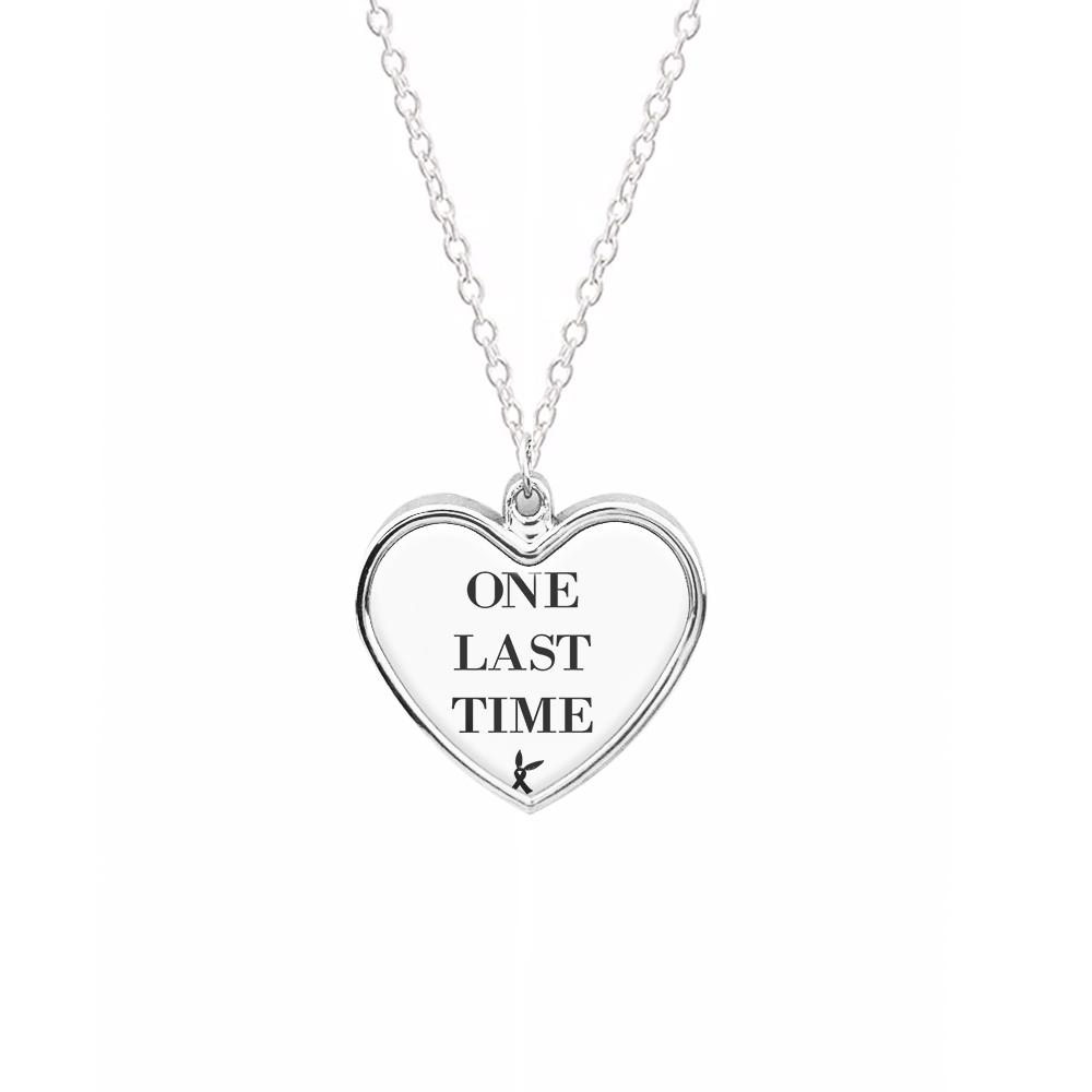 Ariana Grande - One Last Time Necklace
