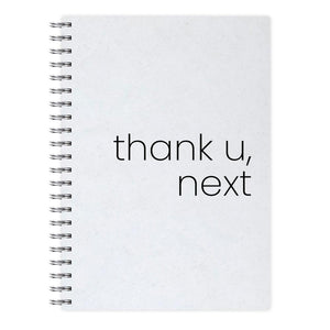 Thank U, Next - Ariana Grande Notebook