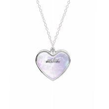 Just Keep Breathin - Ariana Grande Necklace