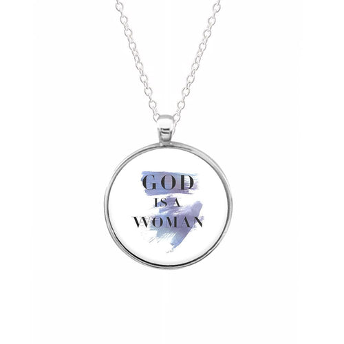 God Is A Woman Splat - Ariana Grande Keyring - Fun Cases