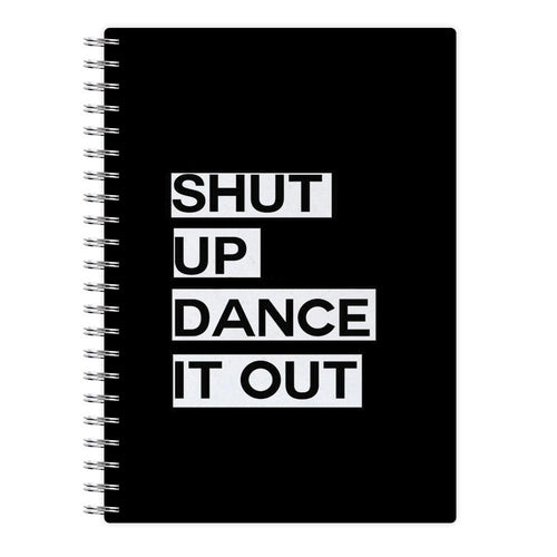 Shut Up Dance It Out - Grey's Anatomy Notebook