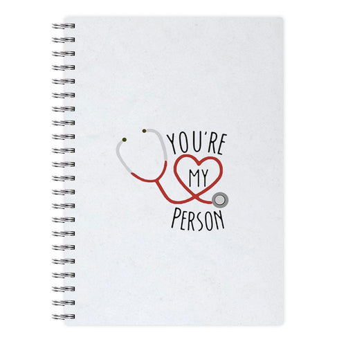 You're My Person - Grey's Anatomy Notebook