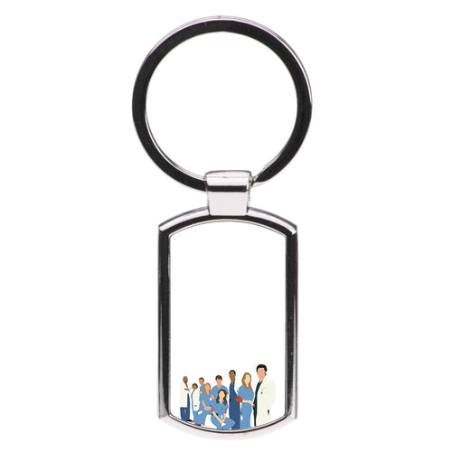 Cartoon Crew - Grey's Anatomy Luxury Keyring