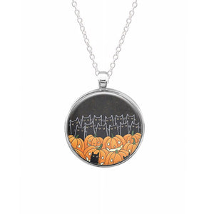 Black Cats & Lanterns - Halloween Keyring - Fun Cases