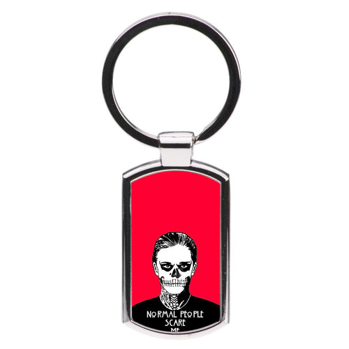 Normal People Scare Me - American Horror Story Luxury Keyring