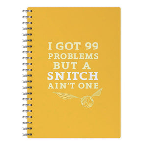 99 Problems But A Snitch Aint One Notebook - Fun Cases
