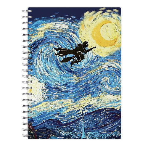 Starry Potter - Harry Potter Notebook - Fun Cases