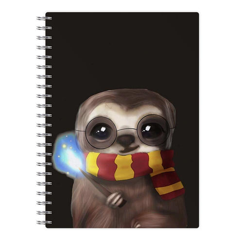 Harry Sloth - Harry Potter Notebook - Fun Cases